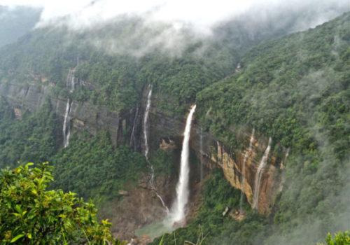 Nohkalikai Falls Shillong