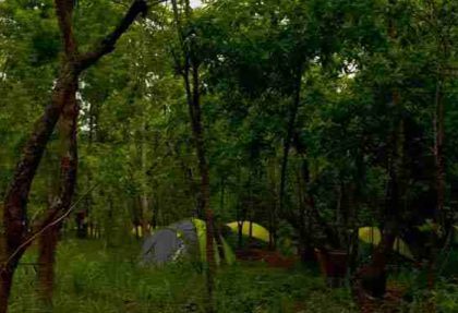 Camping In Rtiang Village With Activities