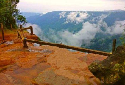 Wakaba Falls Cherrapunjee