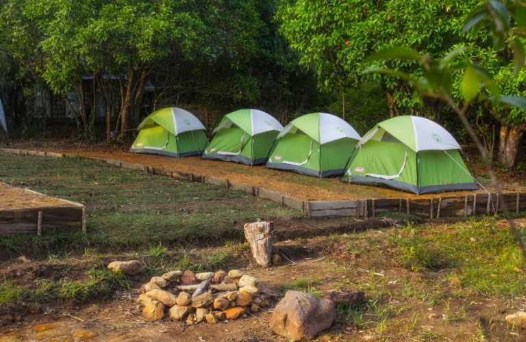Lakefront Nature Camping in Mawsynram, Meghalaya